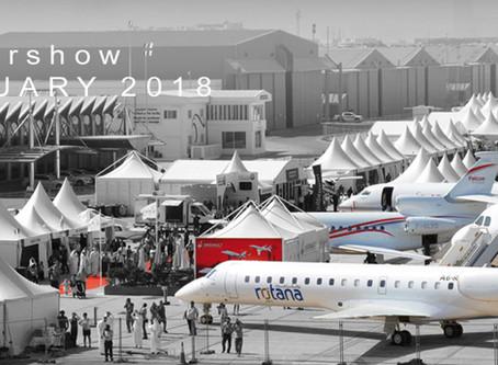 Abu Dhabi Airshow 26, 27, 28 FEBRUARY 2018, AL BATEEN EXECUTIVE AIRPORT