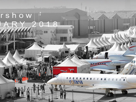 Abu Dhabi Airshow 26, 27, 28 FEBRUARY 2018, AL BATEEN EXECUTIVE AIRPORT