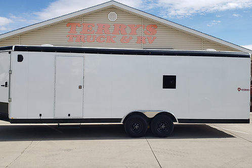 SOLD! - 2019 Criterion 8.5' x 28' 10k Snowmobile Trailer
