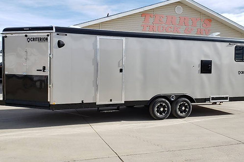 SOLD! - 2019 Criterion Summit 8.5' x 28' Snowmobile Trailer