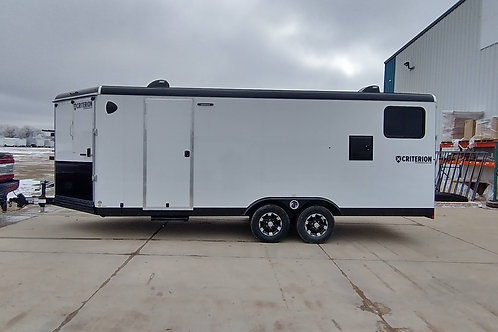 SOLD! 2021 Criterion 8.5' x 24' Snowmobile Trailer Summit Edition + Eclipse