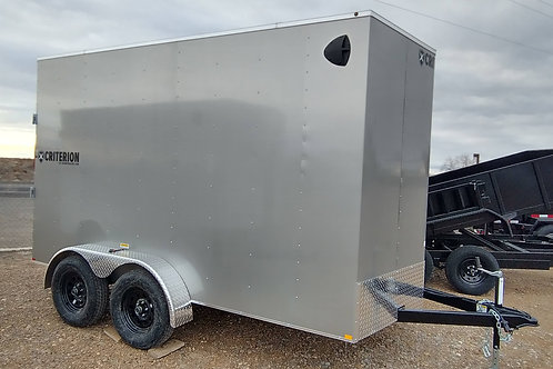 SOLD! 2020 Criterion 7' X 12' Enclosed Trailer w/ Ramp