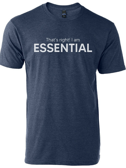 That's right! I am Essential