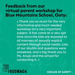 Feedback_OotySchool