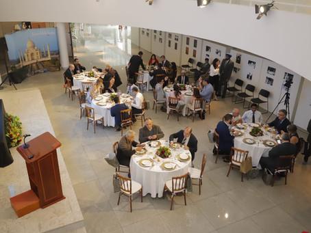 Embaixada da Índia recebe a imprensa para almoço de confraternização no Media Outreach Event