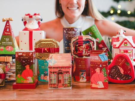 Dom Casero lança sua coleção de Natal com a exposição inédita Um Natal de Doces Palavras