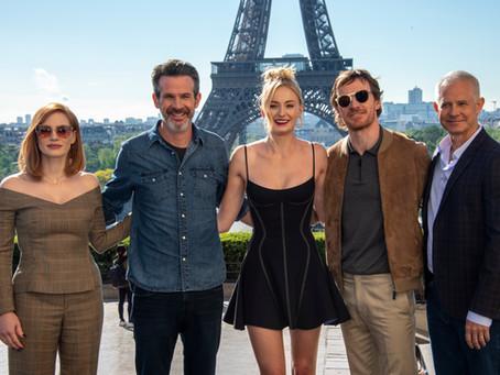 Fox Film divulga fotos do elenco de ''X-MEN: FÊNIX NEGRA em Pais
