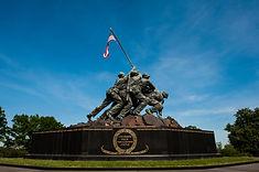 Marine Corps War Memorial - Washington D