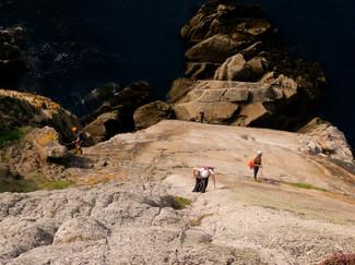 Lundy Sea Cliffs