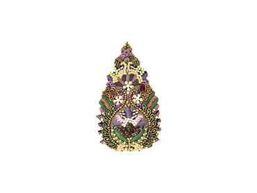 Brosche Mughal Leaf