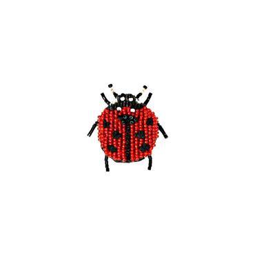 Brosche Lady Beetle