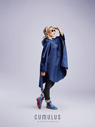 Regencape blau