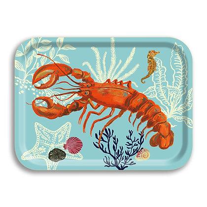 Lobster Holztablett