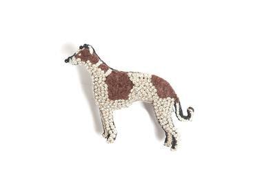 Brosche Greyhound