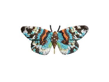 """Brosche Schmetterling """"Day Flying Moth"""""""