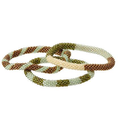 Armband Bracelet Trio Gypsy Moss