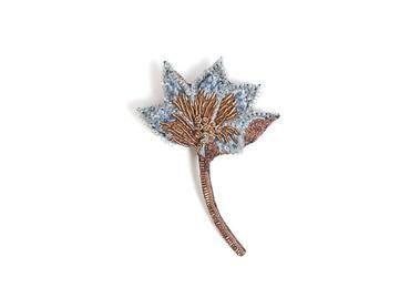 Brosche Safranblüte
