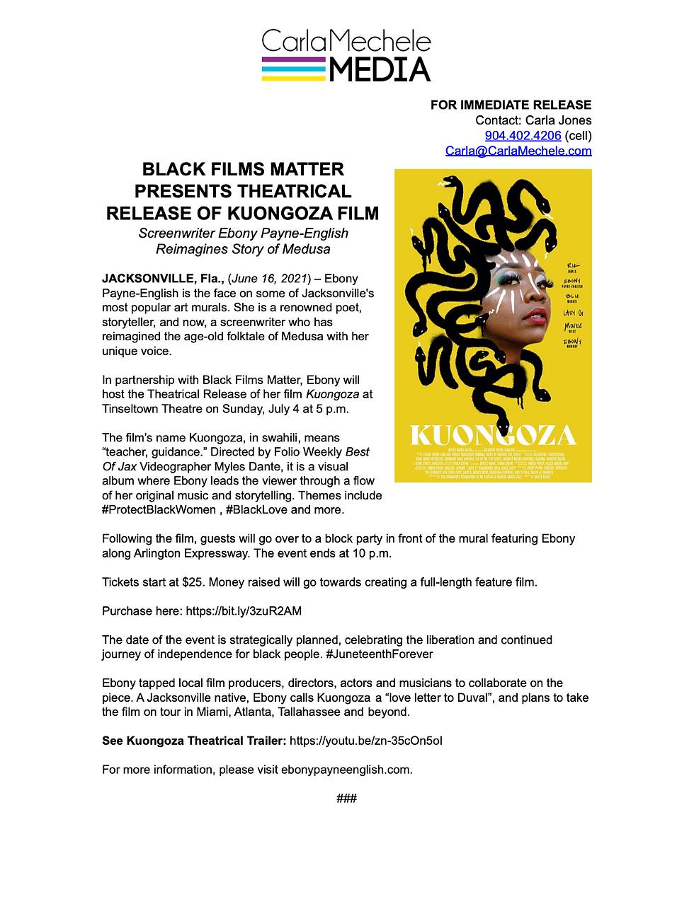 Ebony Payne English - Kuongoza Film  (1)