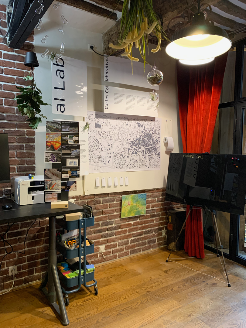Espace carte collaborative