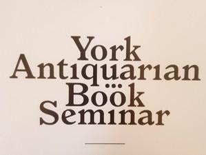 York Antiquarian Book Seminar