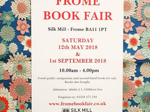 Frome Book Fair - Saturday 12th May
