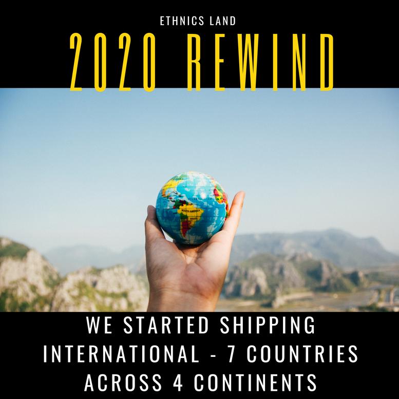 Started International Shipping