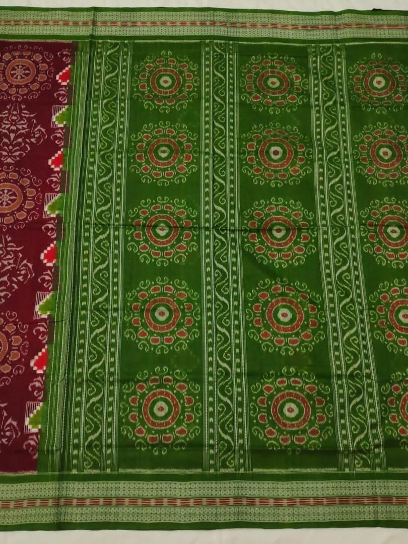 Pure Sambalpuri Odisha Handloom Cotton Saree