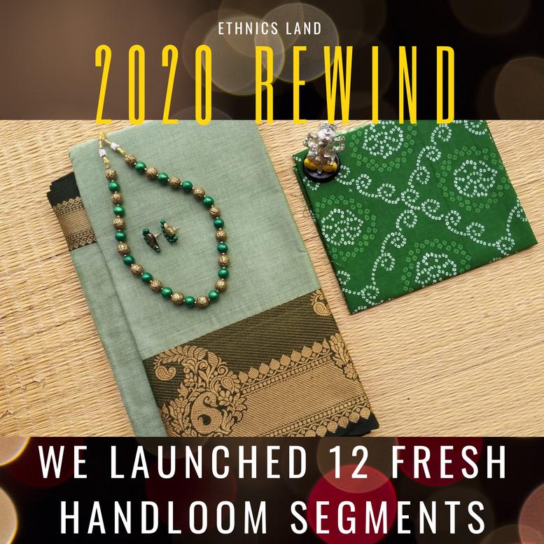 Launched 12 new handloom segment