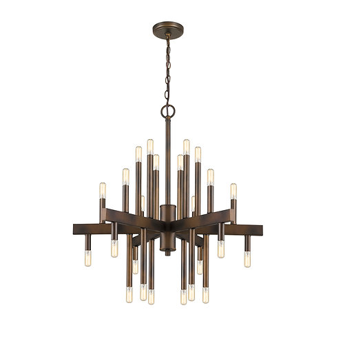 Fallon 24-Light Oil-Rubbed Bronze Chandelier