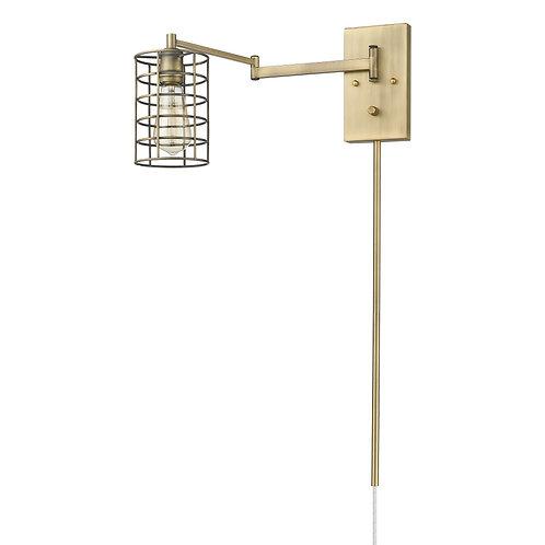 Jett 1-Light Aged Brass Sconce