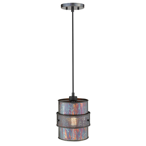 Ryker 1-Light Bronze Patina Pendant