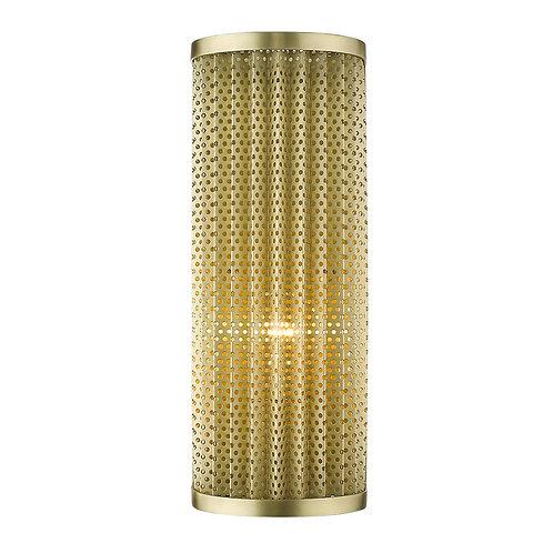 Basetti 1-Light Gold Sconce