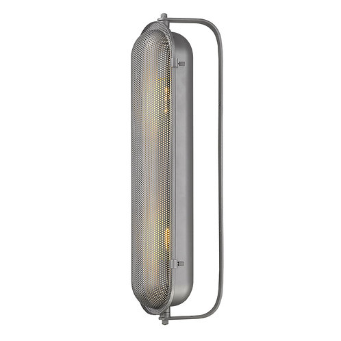 Terra 2-Light Gray Sconce