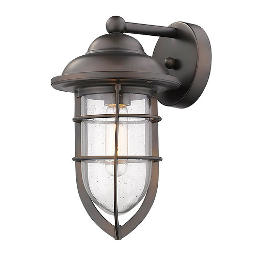 Dylan 1-Light Oil-Rubbed Bronze Wall Light