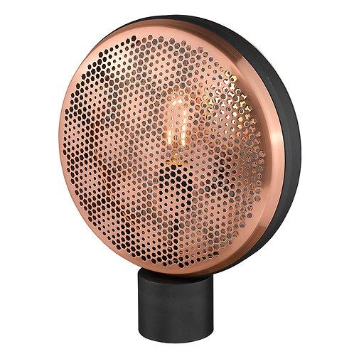 Tholos 1-Light Matte Black Table Lamp