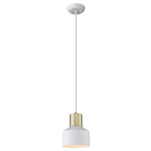 Ingo 1-Light White Pendant