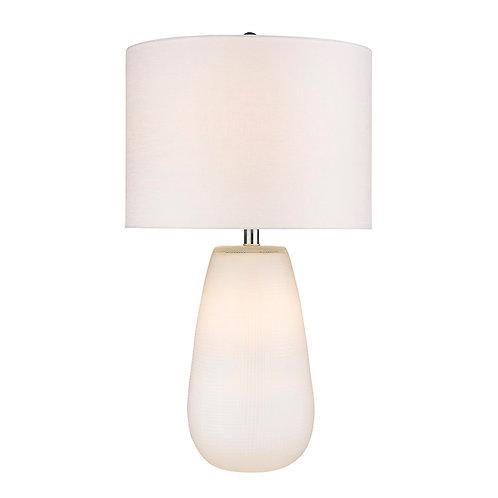 Trend Home 1-Light White Table Lamp