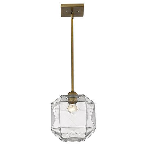 Loft 1-Light Brass Pendant