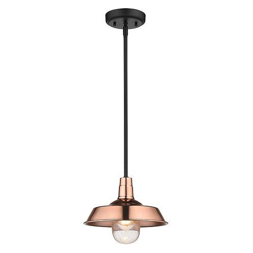 Burry 1-Light Copper Convertible Pendant