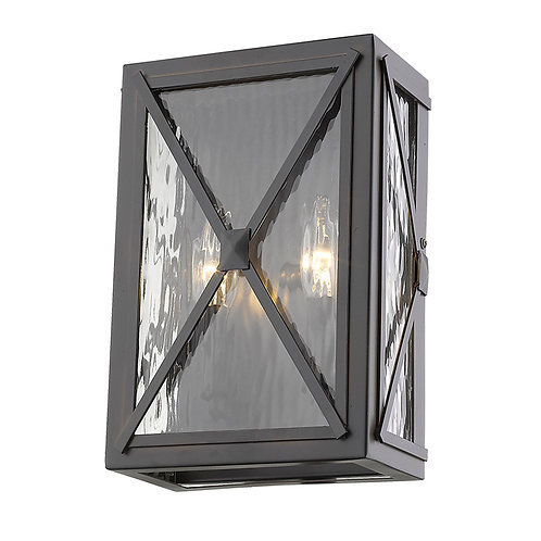 Brooklyn 2-Light Oil-Rubbed Bronze ADA Certified Wall Light