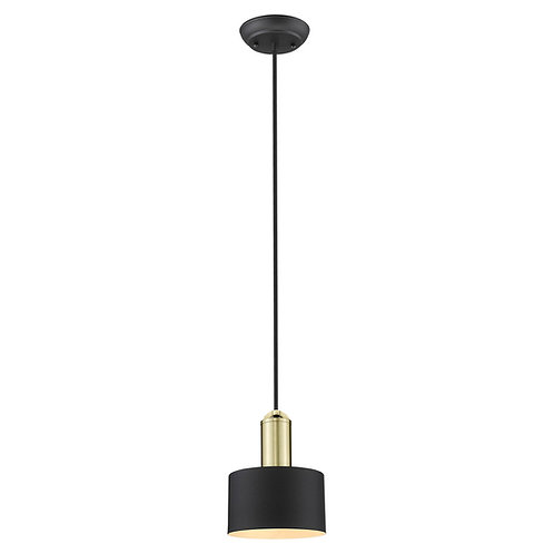 Ingo 1-Light Matte Black Pendant