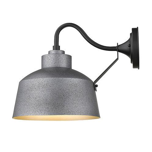 Barnes 1-Light Gray Wall Light