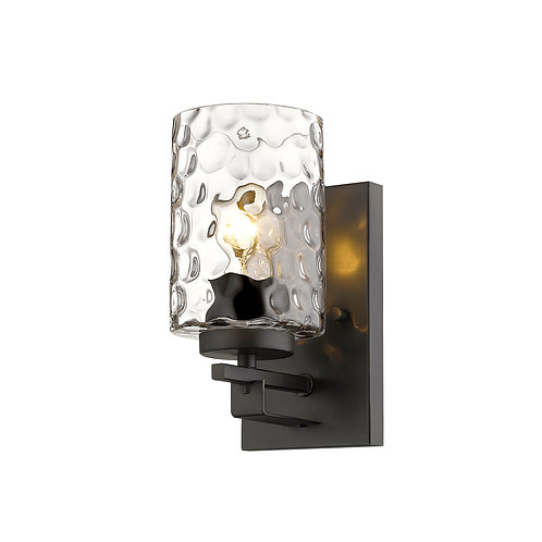 Livvy 1-Light Oil-Rubbed Bronze Sconce