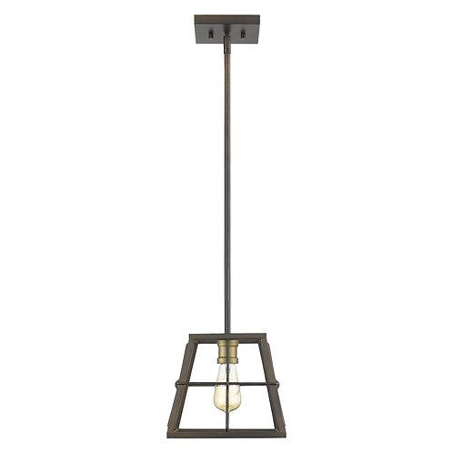 Charley 1-Light Oil-Rubbed Bronze Mini-Pendant