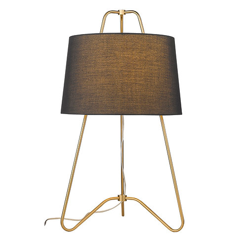 Lamia 1-Light Gold Table Lamp