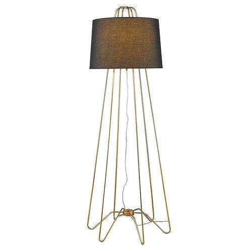 Lamia 1-Light Gold Floor Lamp