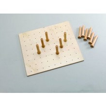 Peg Drawer System w/9 pegs