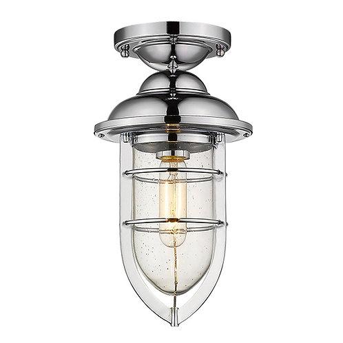Dylan 3-Light Chrome Hanging Lantern