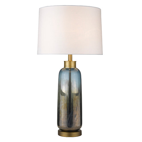 Trend Home 1-Light Brass Table Lamp