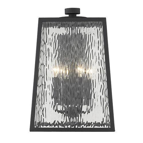 Hirche 4-Light Matte Black Wall Light